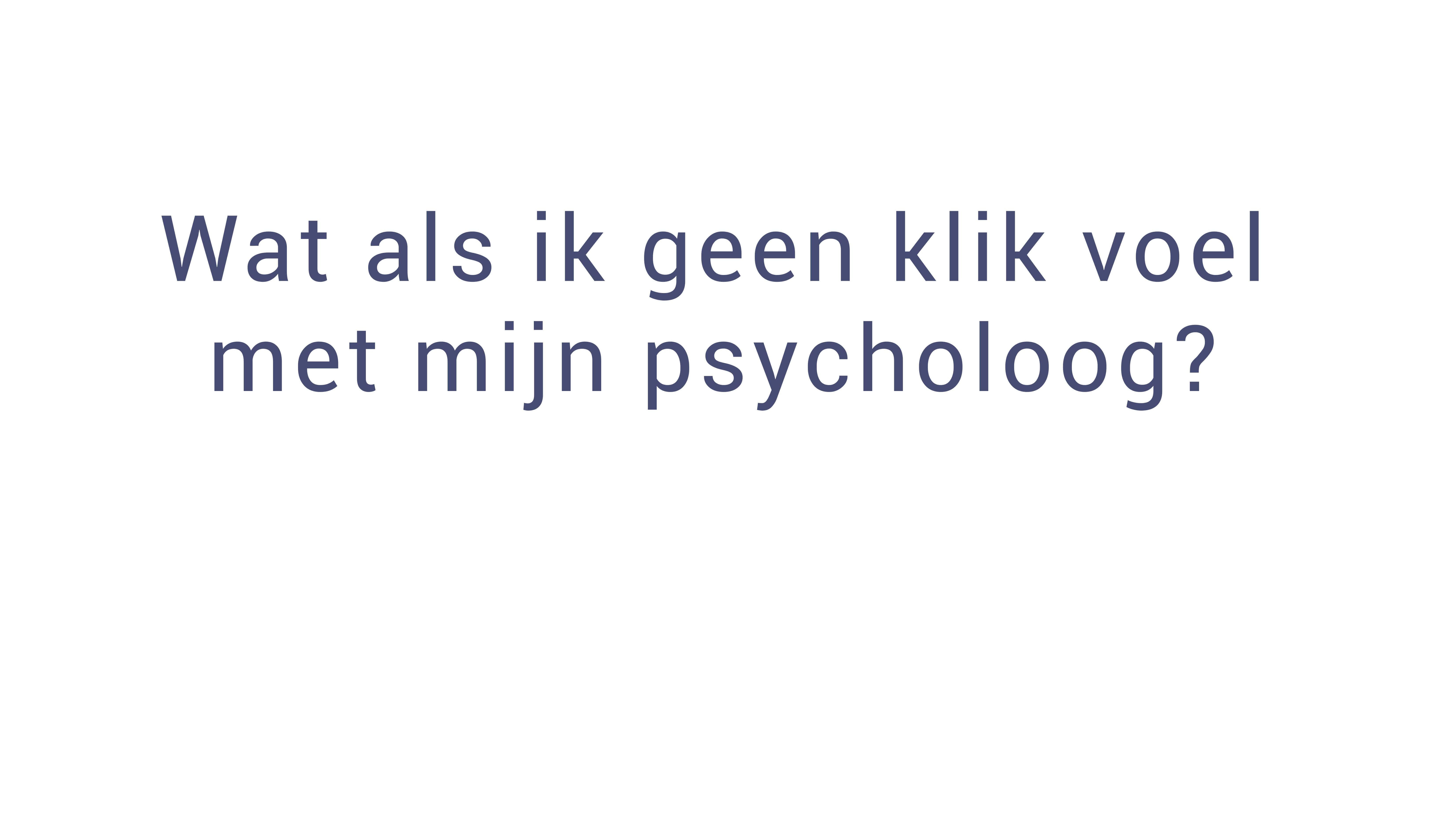 'psycholoog